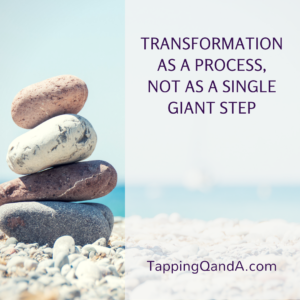 Transformation As A Process, Not As A Single Giant Step