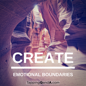 Create Emotional Boundaries
